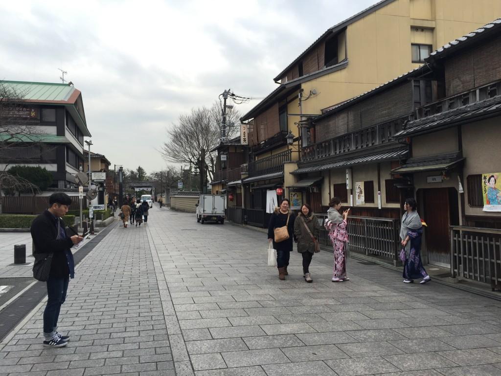 京都「花見小路通り」ではんなりと!5