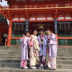 着物レンタルで京都の八坂神社や祇園を散策!5