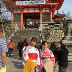 京都の桜満開までもうすぐ!着物レンタル古都3
