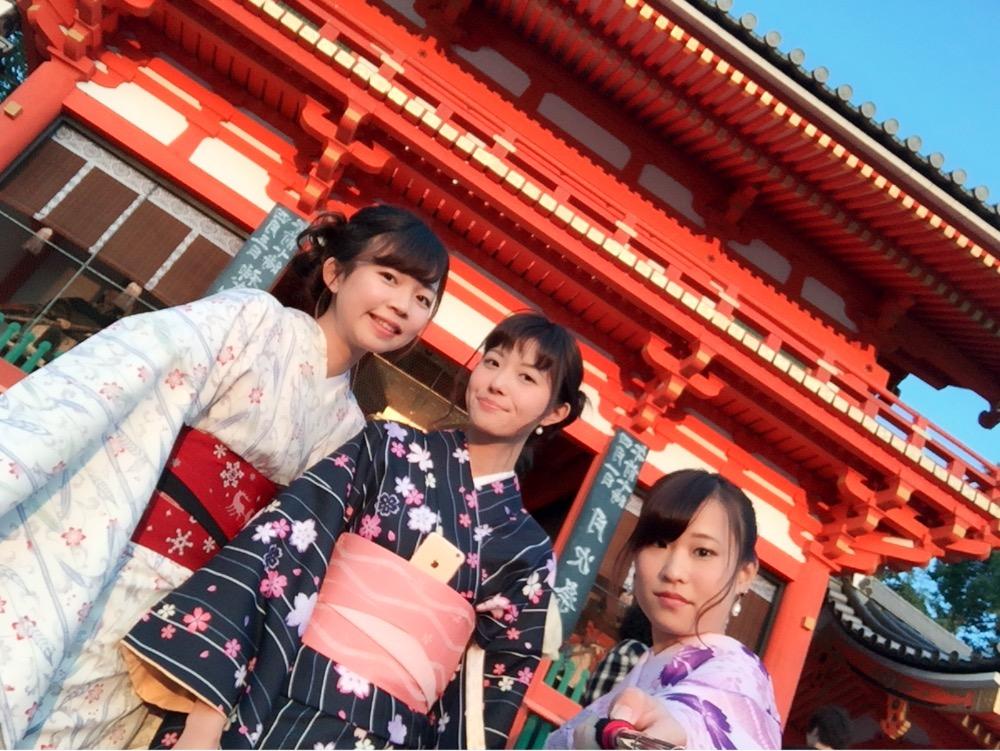 インドネシアからの団体様!春の京都を着物レンタルで満喫♪2016年3月28日40