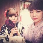 着物レンタルで桜もう少しで満開の京都を散策♪5