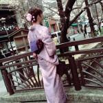 着物レンタルで桜もう少しで満開の京都を散策♪4