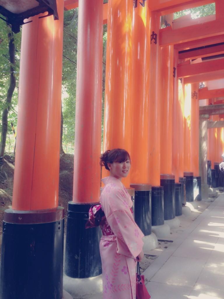 各地で桜の開花宣言!京都レンタルきもの古都2016年3月31日33