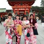もうすぐ春休み終了!その前に京都で着物レンタル♪2016年3月29日30