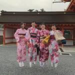 もうすぐ春休み終了!その前に京都で着物レンタル♪2016年3月29日31