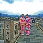 着物レンタルで雨の京都も風情があって良いものです!2016年3月14日8