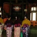 着物レンタルで雨の京都も風情があって良いものです!2016年3月14日10
