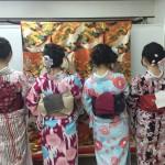 春の着物レンタル!団体割引大活躍!!2016年3月16日12