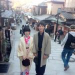 カップルと卒業旅行で京都の着物レンタル2016年3月17日7