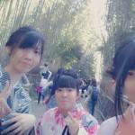 カップルと卒業旅行で京都の着物レンタル2016年3月17日8