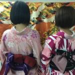 大盛況!着物レンタル三連休最終日!知恩院で桜が!2016年3月21日3