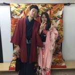 大盛況!着物レンタル三連休最終日!知恩院で桜が!2016年3月21日12