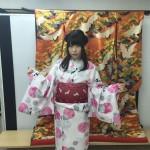 大盛況!着物レンタル三連休最終日!知恩院で桜が!2016年3月21日14