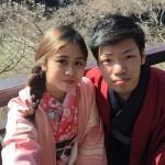 大盛況!着物レンタル三連休最終日!知恩院で桜が!2016年3月21日22