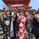 京都で桜の開花宣言!着物レンタルで清水寺へ♪2016年3月23日4