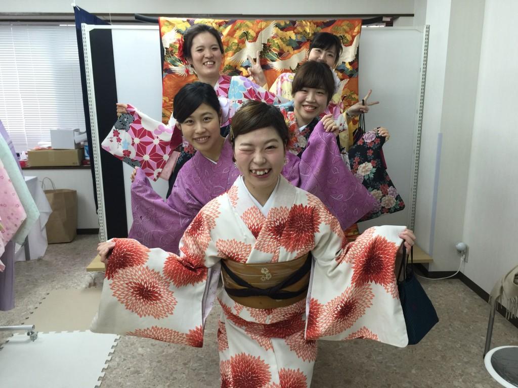 春の京都!みんなで着物レンタル!2016年3月24日4