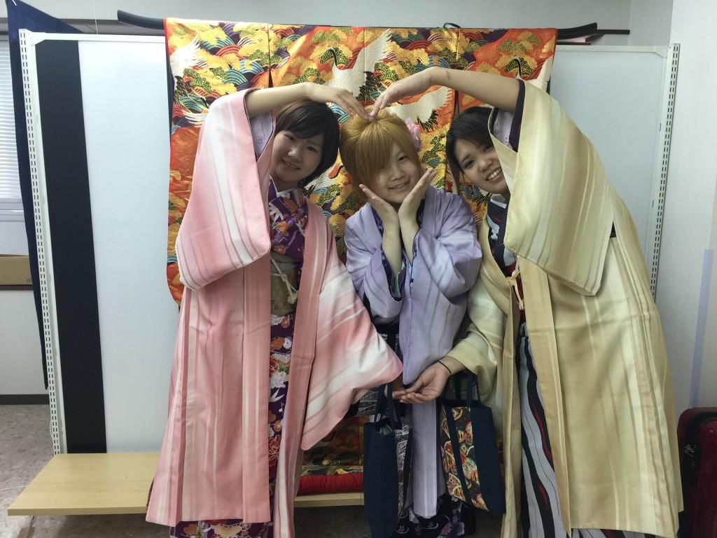 春の京都!みんなで着物レンタル!2016年3月24日13