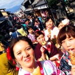 春の京都!みんなで着物レンタル!2016年3月24日18