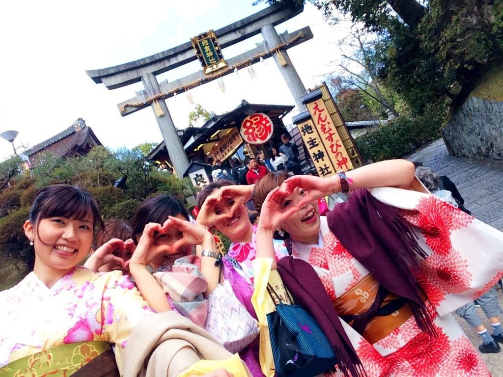 春の京都!みんなで着物レンタル!2016年3月24日20