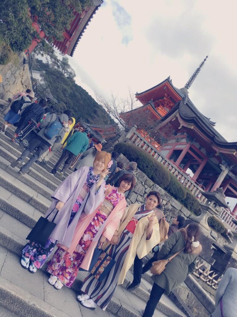 春の京都!みんなで着物レンタル!2016年3月24日23