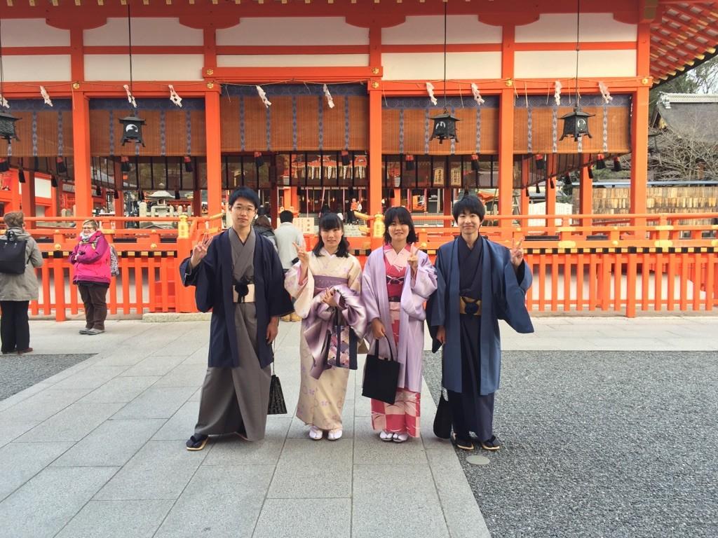 春の京都!みんなで着物レンタル!2016年3月24日24
