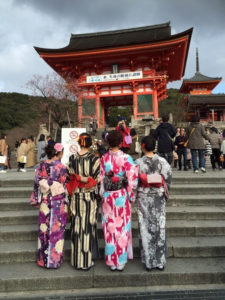 春の京都!みんなで着物レンタル!2016年3月24日25