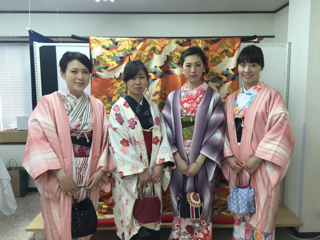 京都祇園白川の桜と着物レンタル2016年3月26日11
