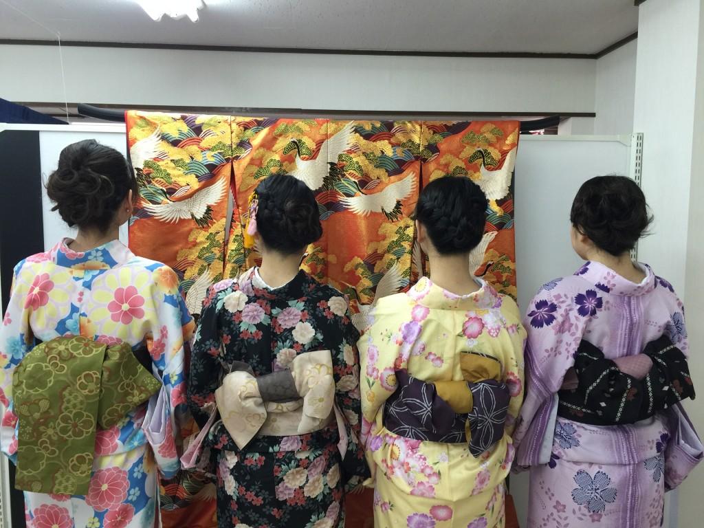 着物レンタルで桜もう少しで満開の京都を散策♪12