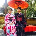 着物レンタルで桜もう少しで満開の京都を散策♪14