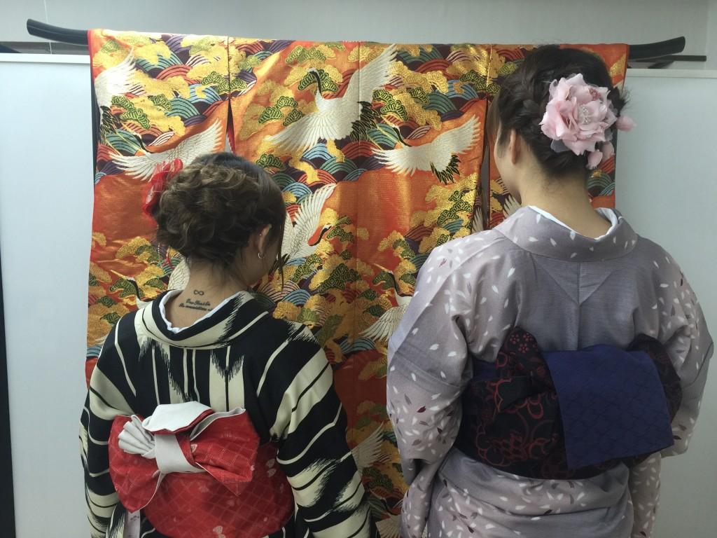 着物レンタルで桜もう少しで満開の京都を散策♪17