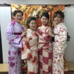 インドネシアからの団体様!春の京都を着物レンタルで満喫♪2016年3月28日8