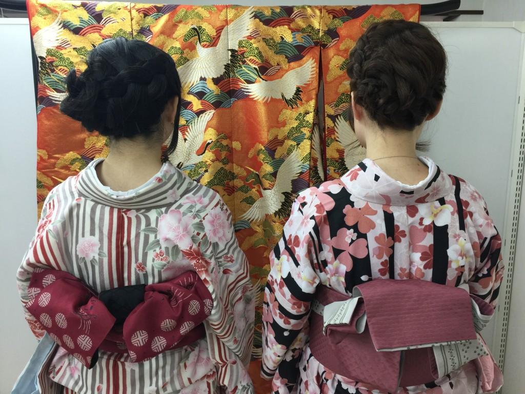 インドネシアからの団体様!春の京都を着物レンタルで満喫♪2016年3月28日13