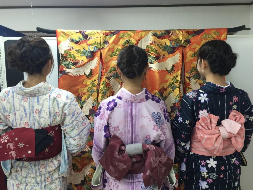 インドネシアからの団体様!春の京都を着物レンタルで満喫♪2016年3月28日16
