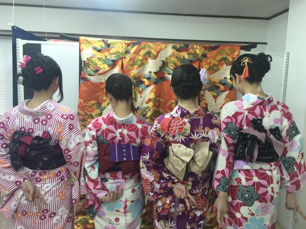 もうすぐ春休み終了!その前に京都で着物レンタル♪2016年3月29日13