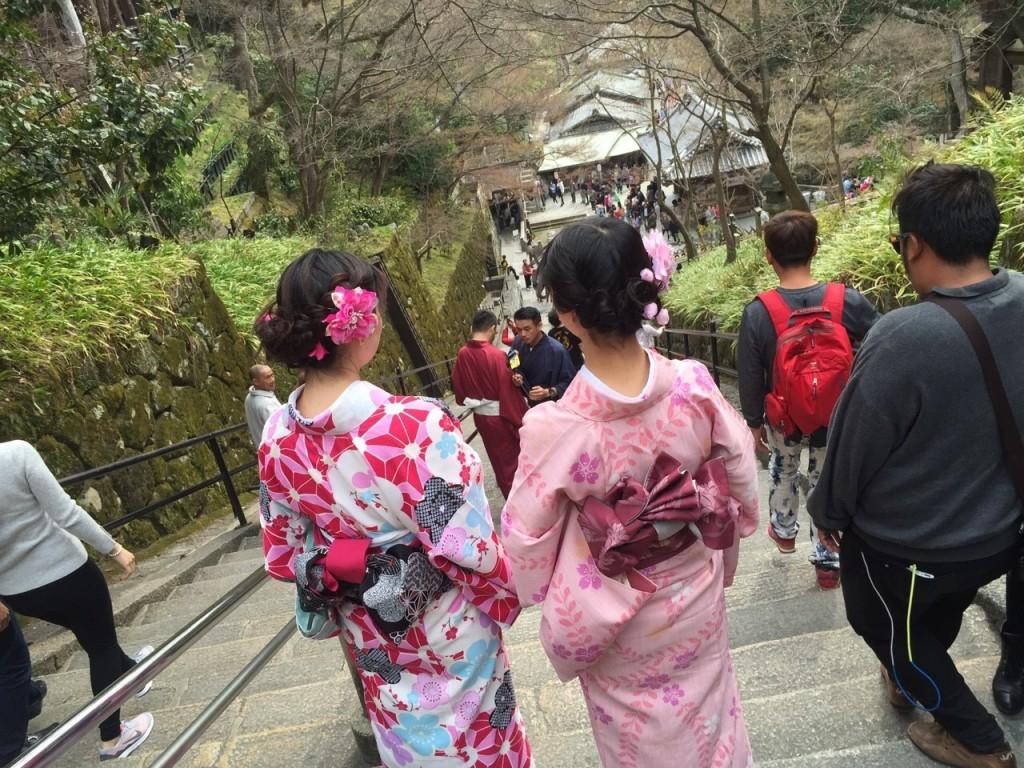 京都の桜満開までもうすぐ!着物レンタル古都5