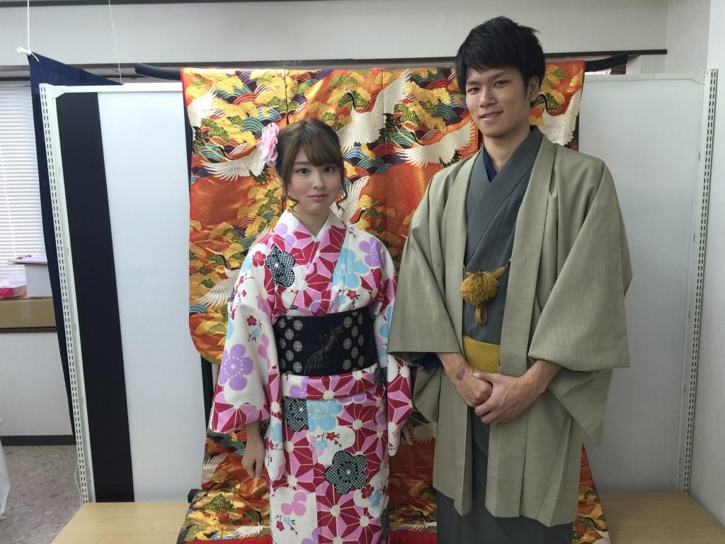 各地で桜の開花宣言!京都レンタルきもの古都2016年3月31日5