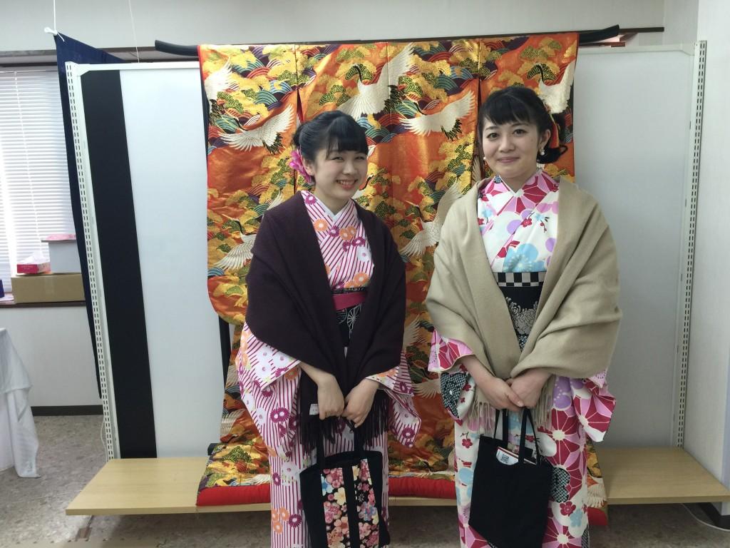 各地で桜の開花宣言!京都レンタルきもの古都2016年3月31日7