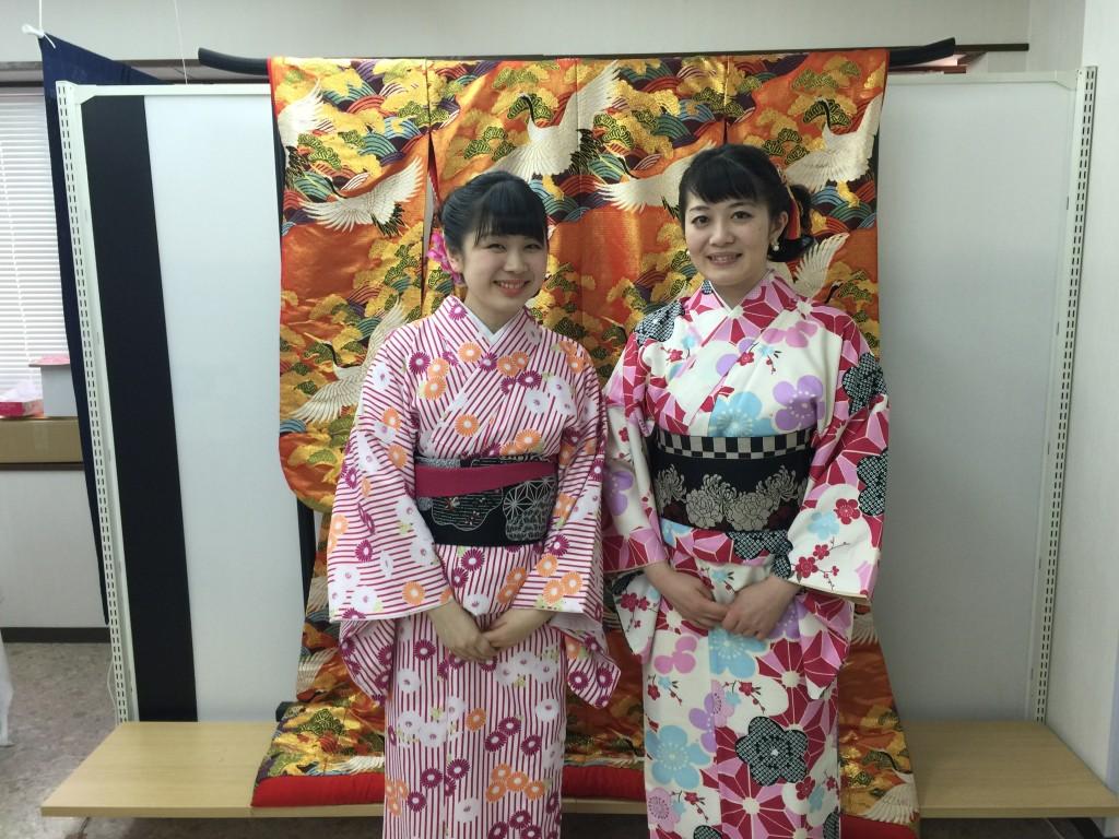 各地で桜の開花宣言!京都レンタルきもの古都2016年3月31日8