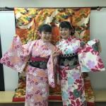各地で桜の開花宣言!京都レンタルきもの古都2016年3月31日10