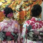各地で桜の開花宣言!京都レンタルきもの古都2016年3月31日15