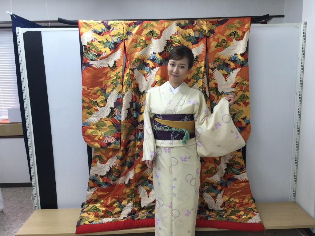 各地で桜の開花宣言!京都レンタルきもの古都2016年3月31日19
