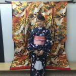 各地で桜の開花宣言!京都レンタルきもの古都2016年3月31日22