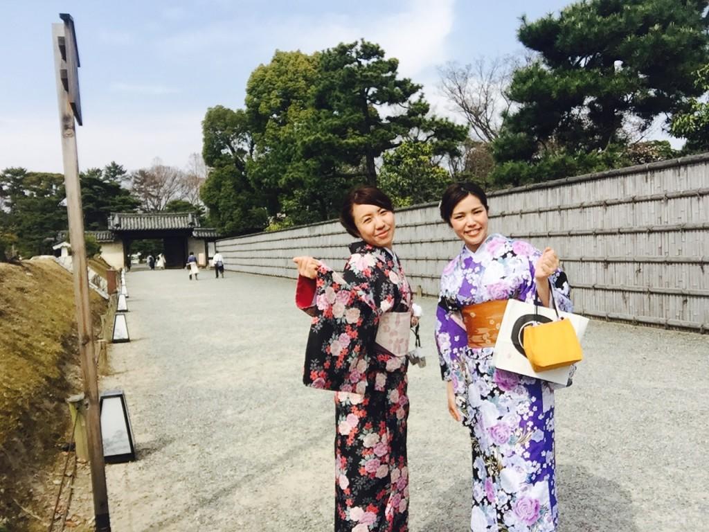 各地で桜の開花宣言!京都レンタルきもの古都2016年3月31日4
