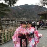 各地で桜の開花宣言!京都レンタルきもの古都2016年3月31日3