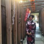 京都の着物レンタルで週末の団体女子旅行♪2016年4月23日12