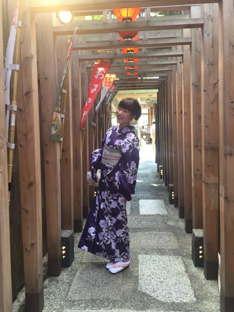 京都の着物レンタルで週末の団体女子旅行♪2016年4月23日10