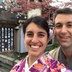 海外から京都で着物レンタル!グローバルな一日!2016年4月11日11