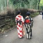 残りの春休みを着物レンタルで京都を満喫♪2016年4月4日14