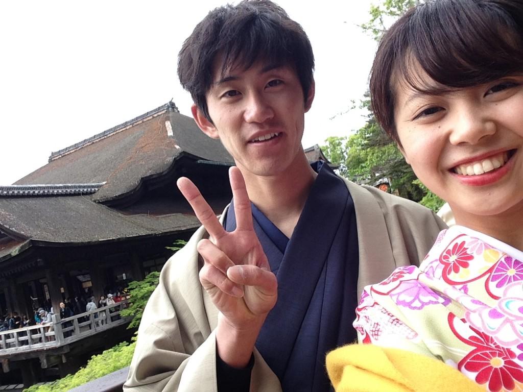 GWは京都で着物レンタル♪2016年4月29日18