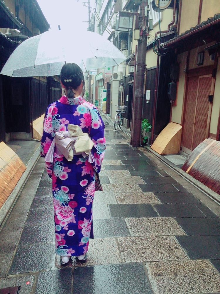 大阪からの高校生1クラス全員で着物レンタル♪2016年4月28日8